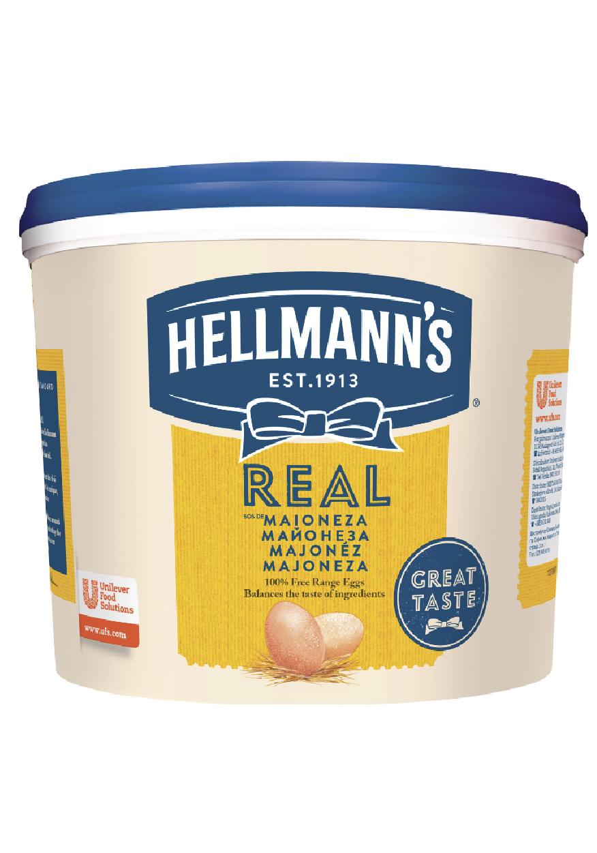 Hellmann's Sos de Maioneza Real 5 kg - Retetele au nevoie de sosuri cu o consistenta potrivita.