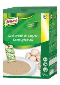 Knorr Supa crema de ciuperci 2 kg -