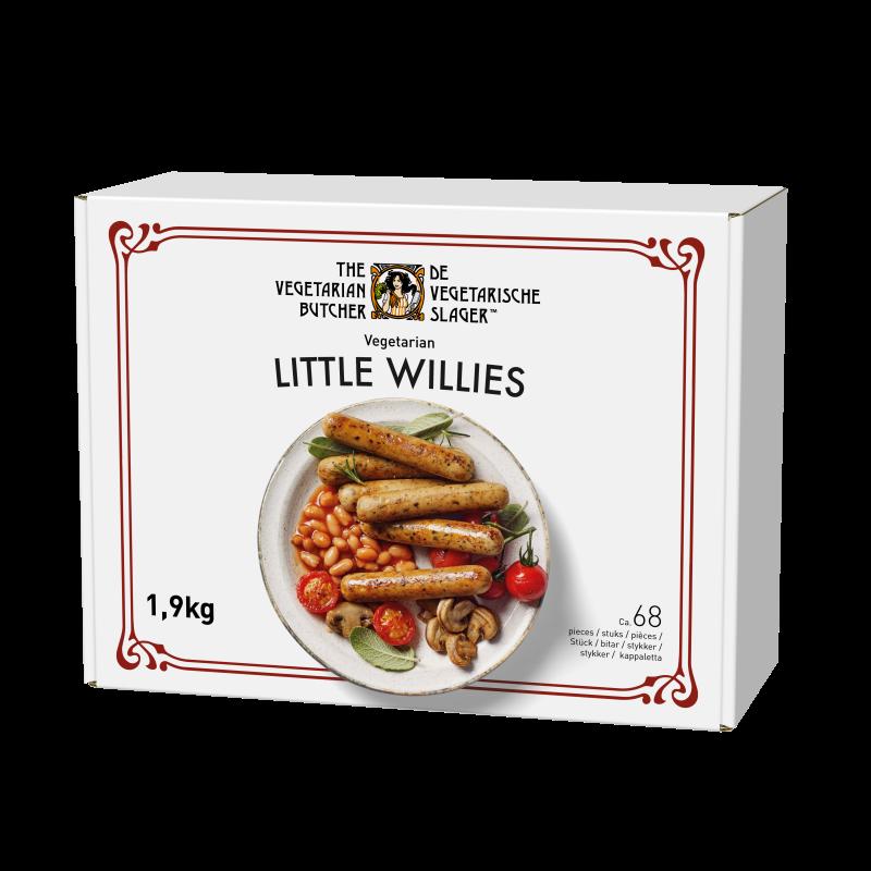 Little Willies 1.9 kg - Proteine din plante cu gustul si textura carnii