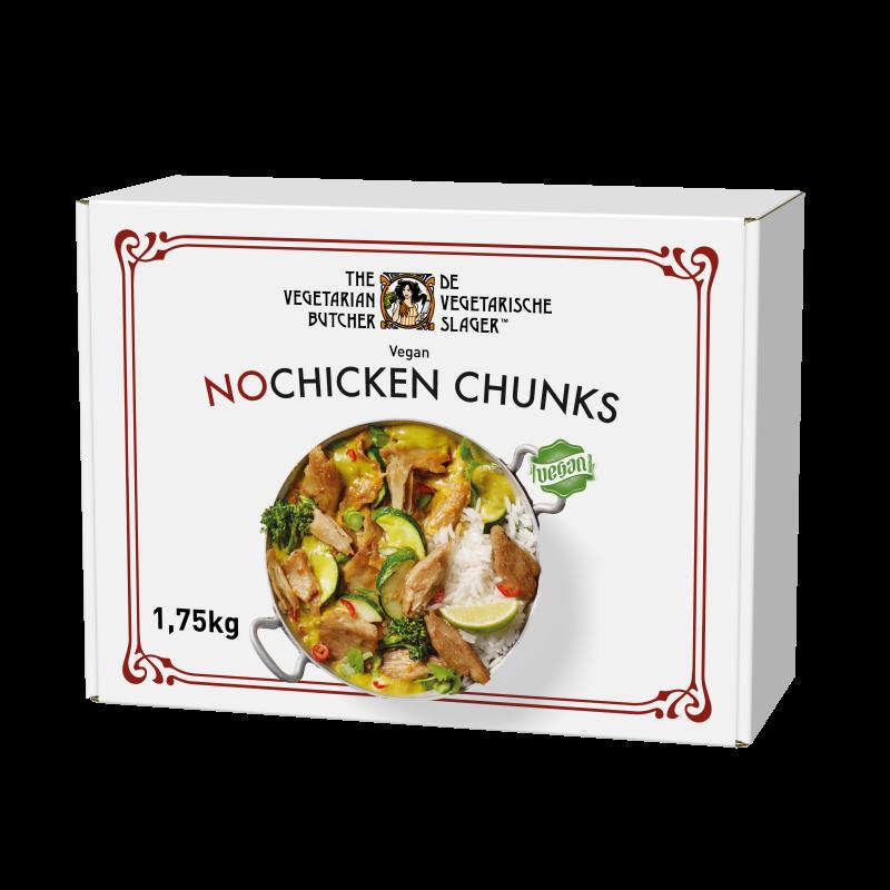 NoChicken Chunks 1.75 kg - Proteine din plante cu gustul si textura carnii