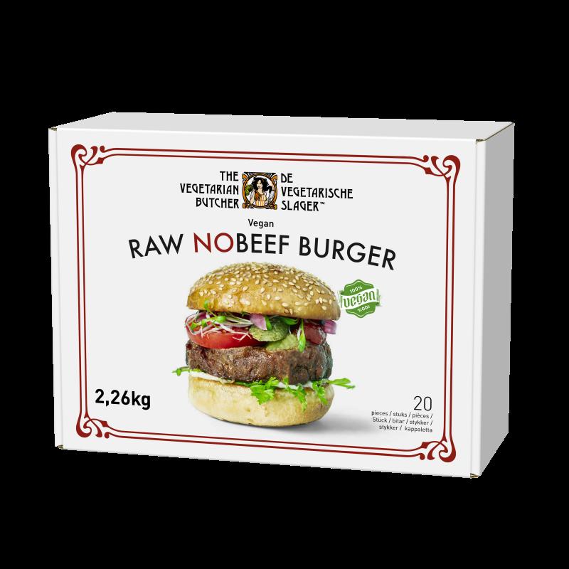 Raw NoBeef Burger 2.26 kg